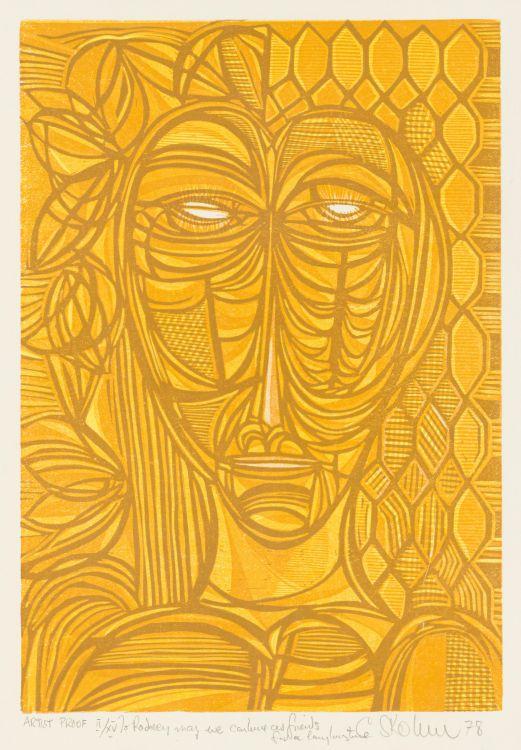 Cecil Skotnes; Abstract Head