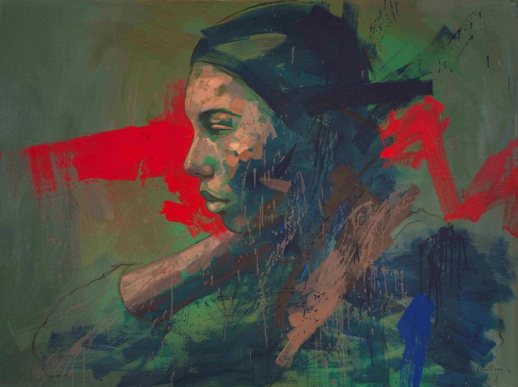 Lionel Smit; Rorschach Divided #2