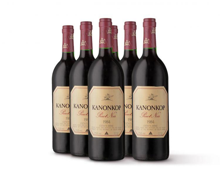 Kanonkop; Pinot Noir; 1984; 6 (1 x 6); 750ml