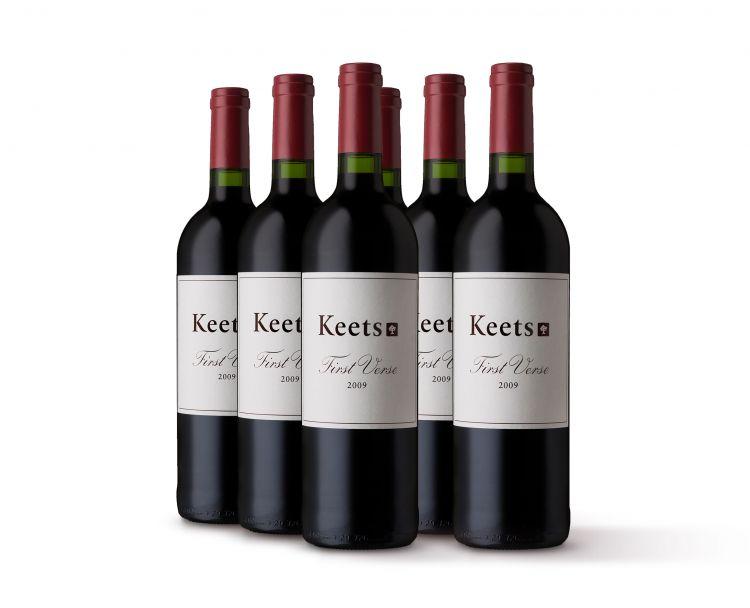 Keets; First Verse; 2009; 6 (1 x 6); 750ml