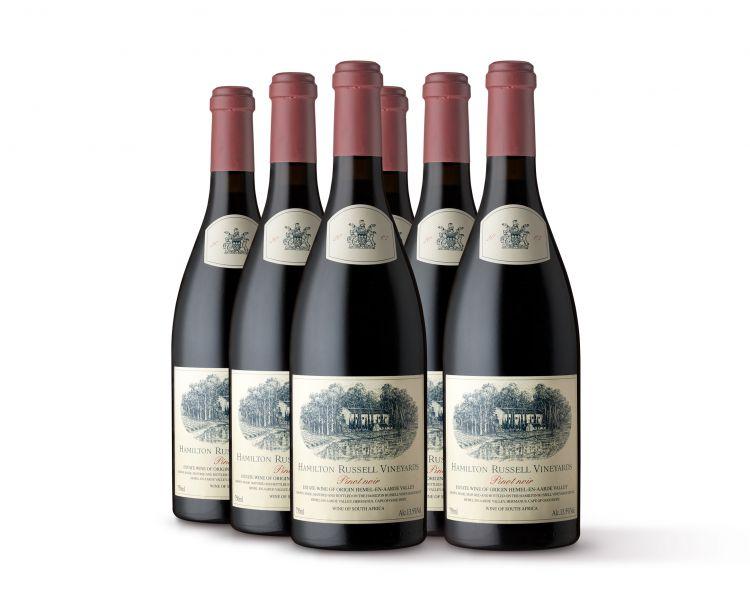 Hamilton Russell; Pinot Noir; 2007; 6 (1 x 6); 750ml