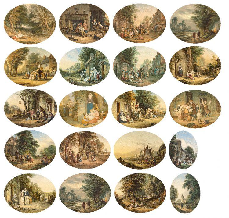 George Baxter; Baxter prints, twenty