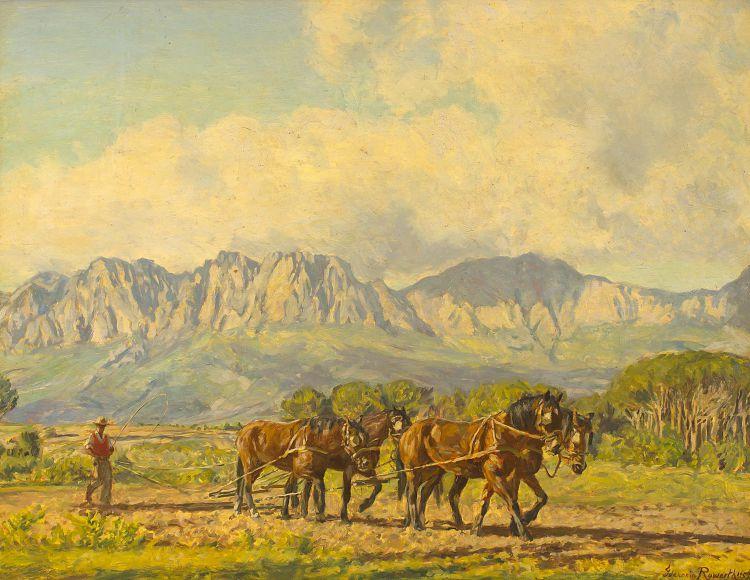Ivanonia Roworth; Ploughing