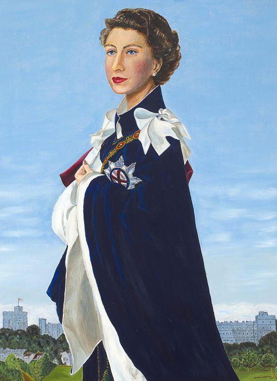 Muriel Rycroft; Queen Elizabeth II