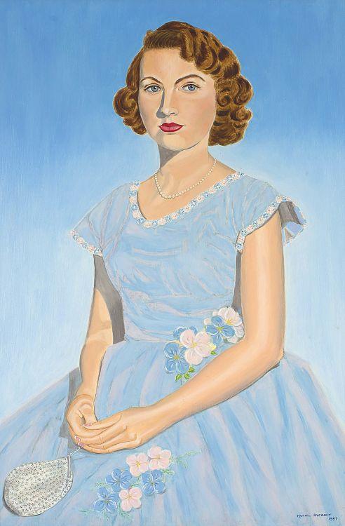 Muriel Rycroft; Girl in a Blue Frock