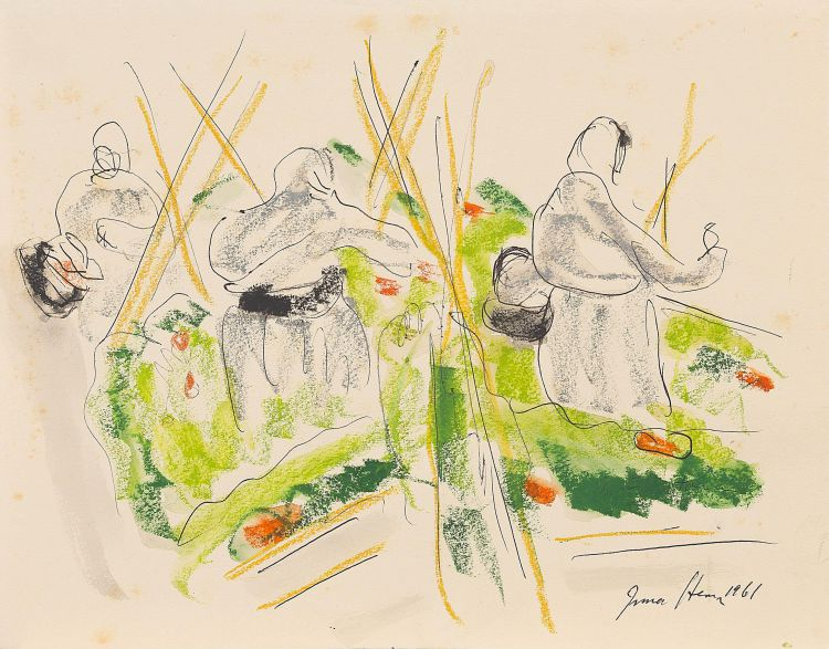 Irma Stern; Harvesters