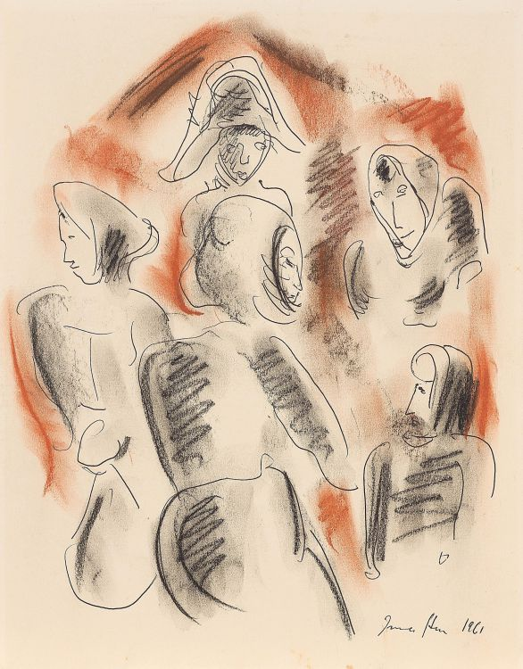 Irma Stern; Four figures