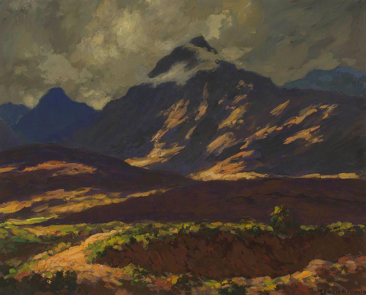 Edward Roworth; Late Afternoon Light