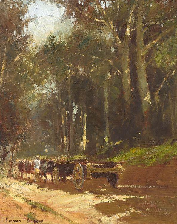 Adriaan Boshoff; A Timber Wagon
