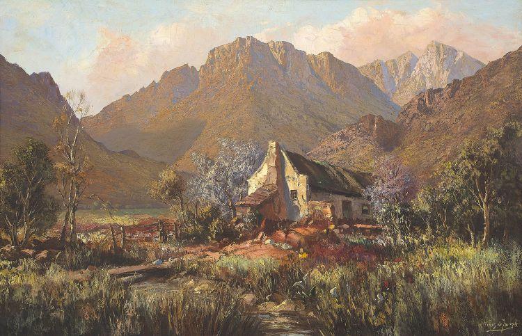 Tinus de Jongh; Boschkloof near Clanwilliam