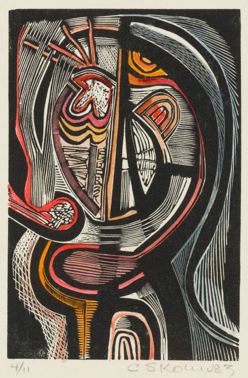 Cecil Skotnes; Abstract Face