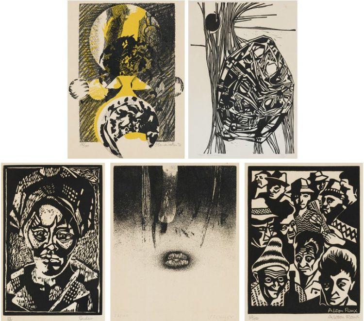 Heather Martienssen; Portfolio of Prints, five