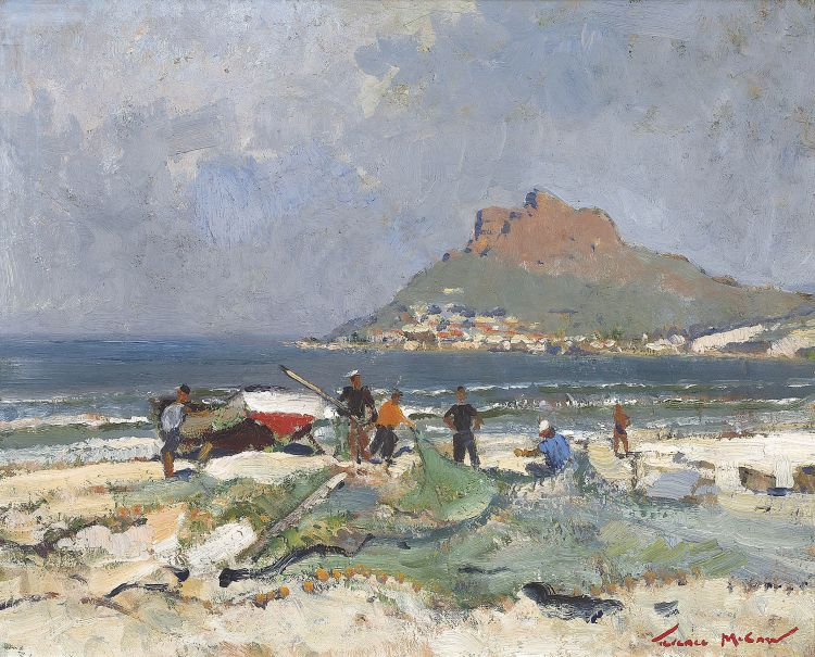 Terence McCaw; After the Trek, Hout Bay