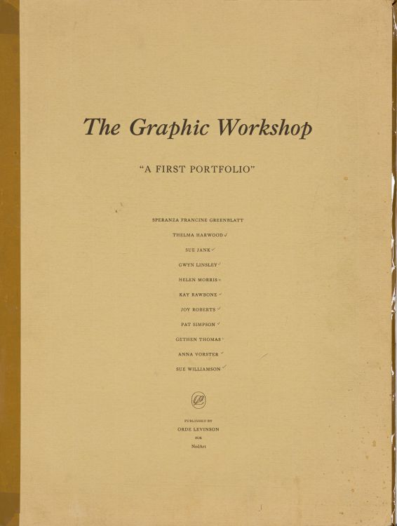 Various Artists; The Graphic Workshop: A First Portfolio