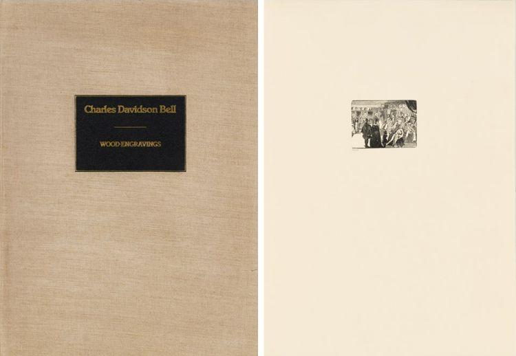 Charles Davidson Bell; Wood Engravings, portfolio