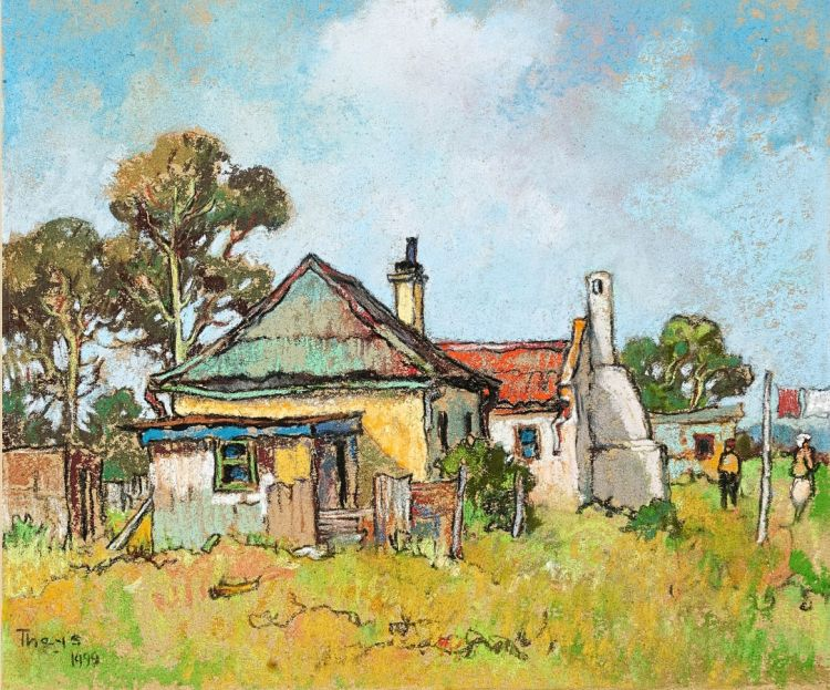 Conrad Theys; Labourers' Houses, Western Cape