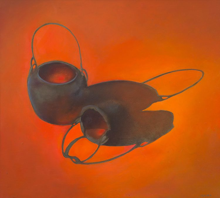 Judith Mason; Two Pots