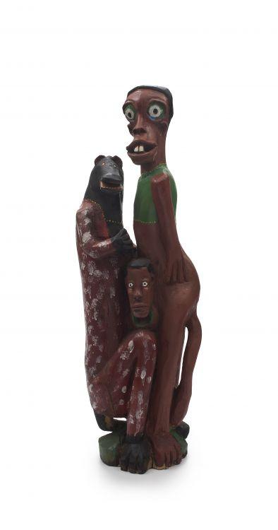 Phillip Rikhotso; Figural Group