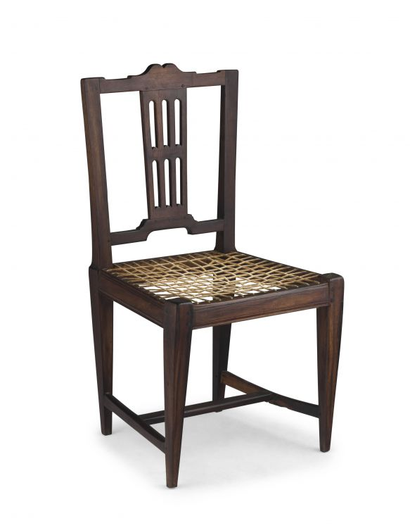A Cape stinkwood neo-classical side chair, 19th century