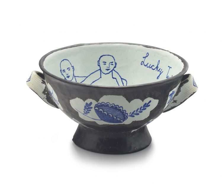 Hylton Nel; 'Lucky Twins' two-handled bowl