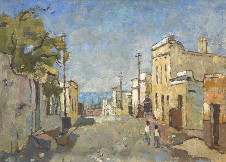 Gregoire Boonzaier; Chiappini Street, Cape Town