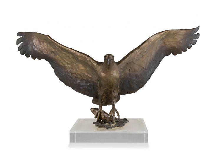 David Tomlinson; Fish Eagle in Flight