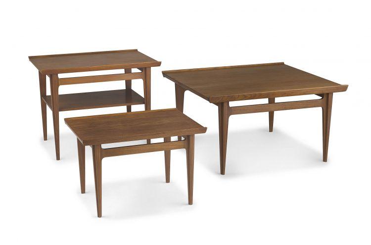 A Danish teak model 533 table designed in the 1960s by Finn Juhl for France & Søn