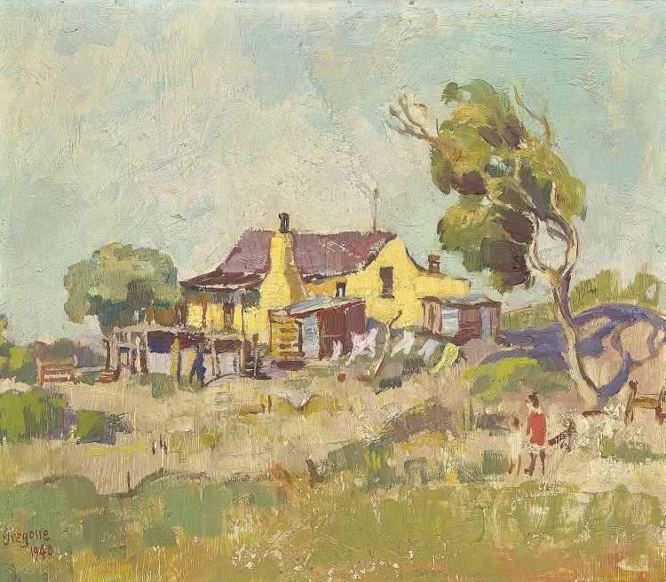 Gregoire Boonzaier; Yellow House