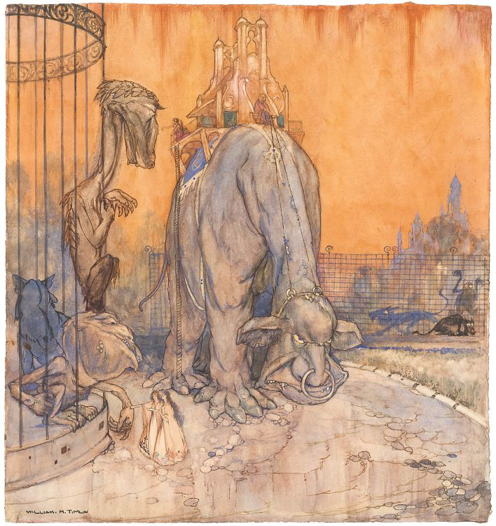 William Timlin; The Ship that Sailed to Mars: The Zoo