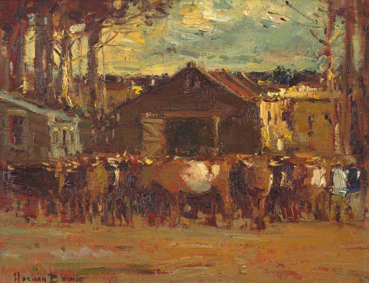 Adriaan Boshoff; Cattle Auction