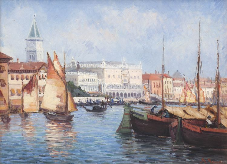 Hugo Naudé; Venice