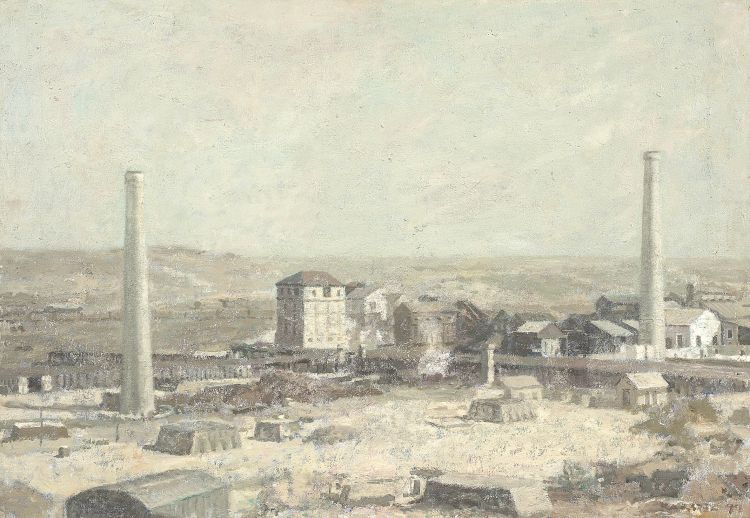 Anton Karstel; Wankie Colliery (Wonderful South Africa)