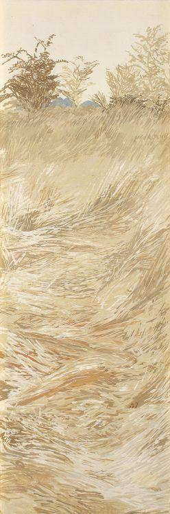 Adolph Jentsch; Gras Landschaft (Grass Landscape)