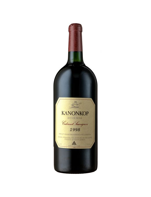 Kanonkop; Cabernet Sauvignon; 1998; 1 (1 x 1); 3000ml
