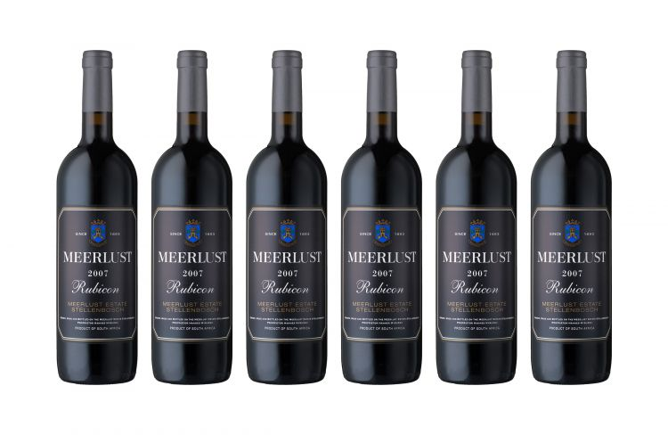 Meerlust; Rubicon; 2007; 12 (2 x 6); 750ml