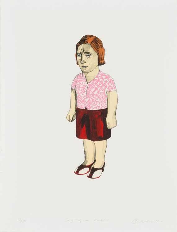 Claudette Schreuders; Crying in Public