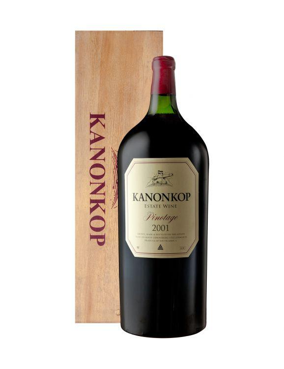 Kanonkop; Pinotage; 2001; 1 (1 x 1); 9000ml