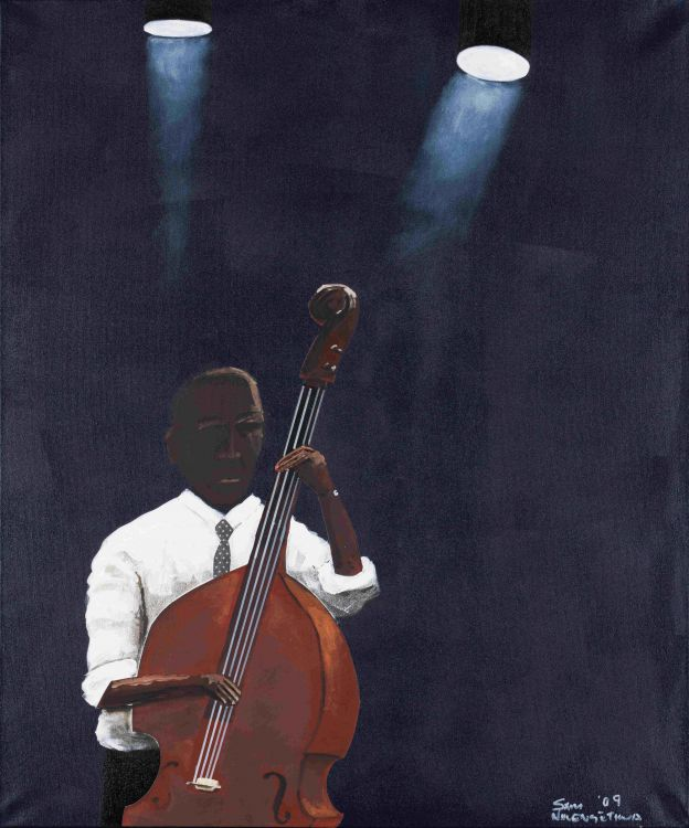 Sam Nhlengethwa; Solo