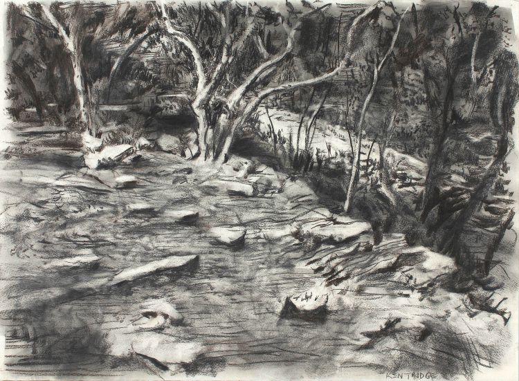 William Kentridge; The Artist's Garden, Houghton