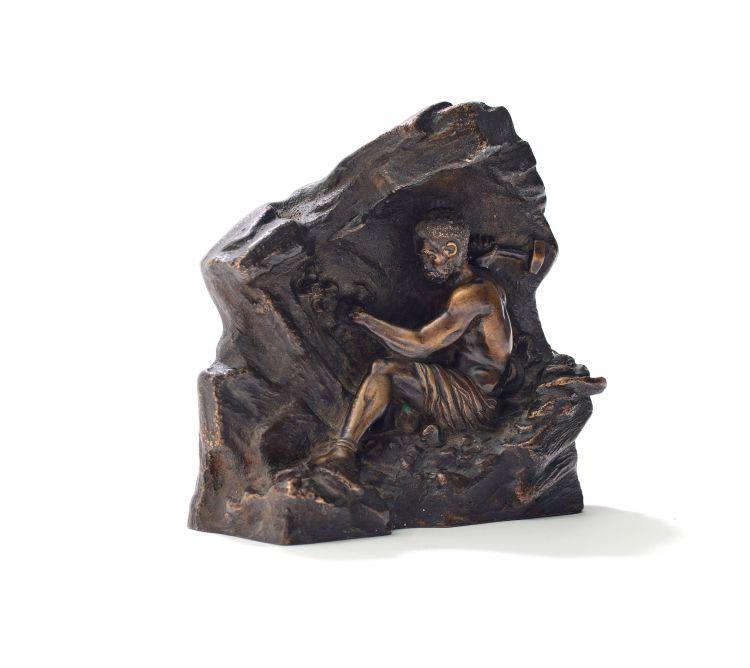 Anton van Wouw; The Hammer Worker, maquette