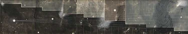 Karel Nel; Point to Line to Plane, Astronomical Treatise, Kyoto