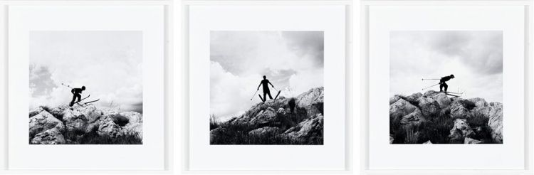Robin Rhode; Slalom, triptych