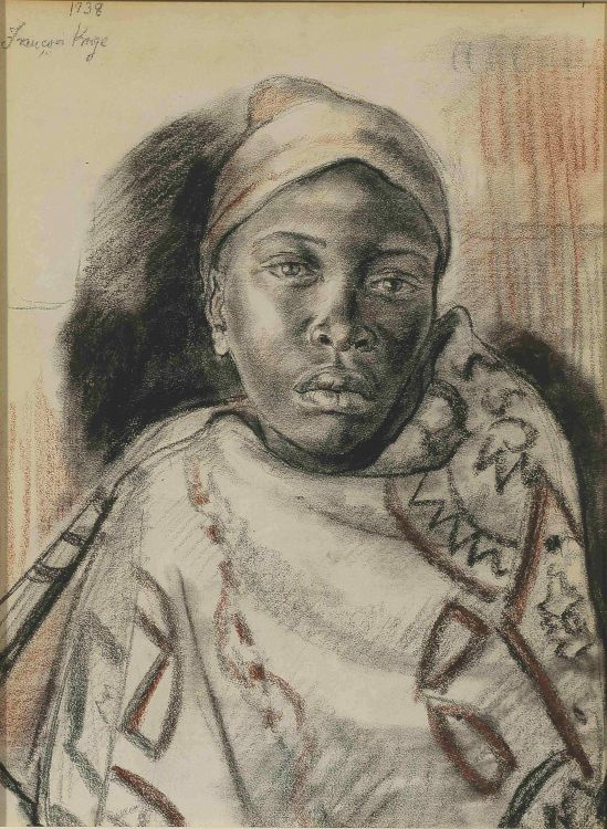 François Krige; Basuto Portrait