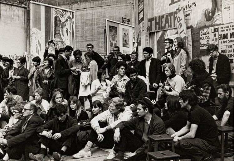 Henri Cartier-Bresson; Théâtre de l'Epée-de-Bois, 1968