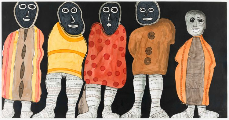 Colbert Mashile; Five Figures