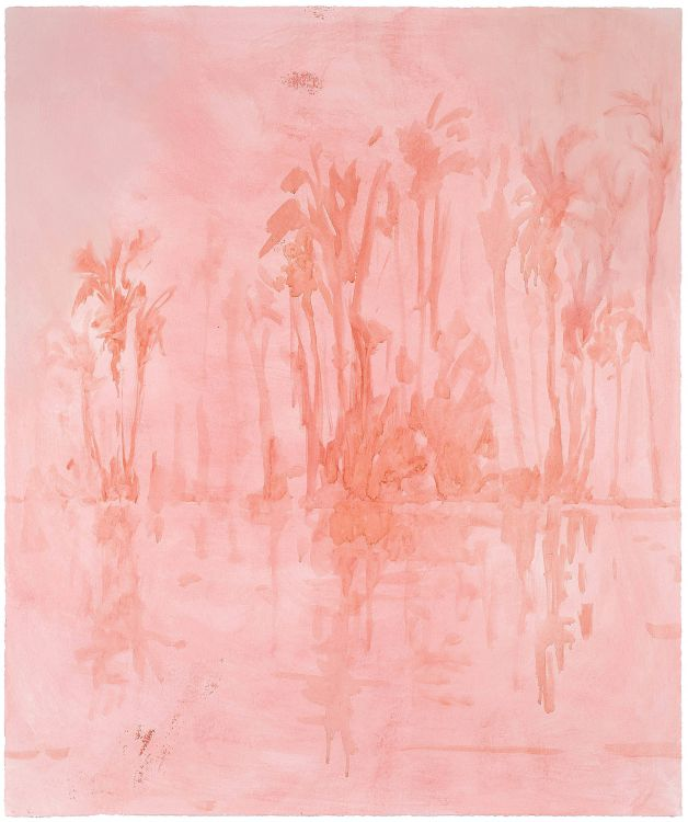 Jake Aikman; Across the River (Rose Tinted)