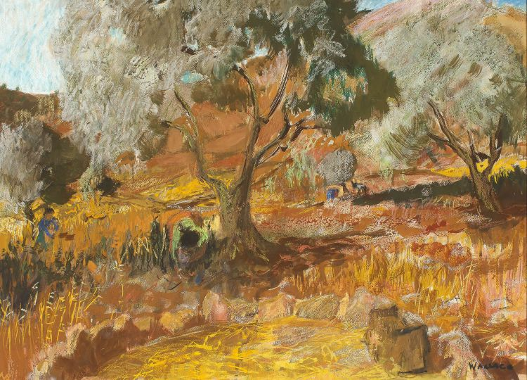 Marjorie Wallace; Olive Gatherers