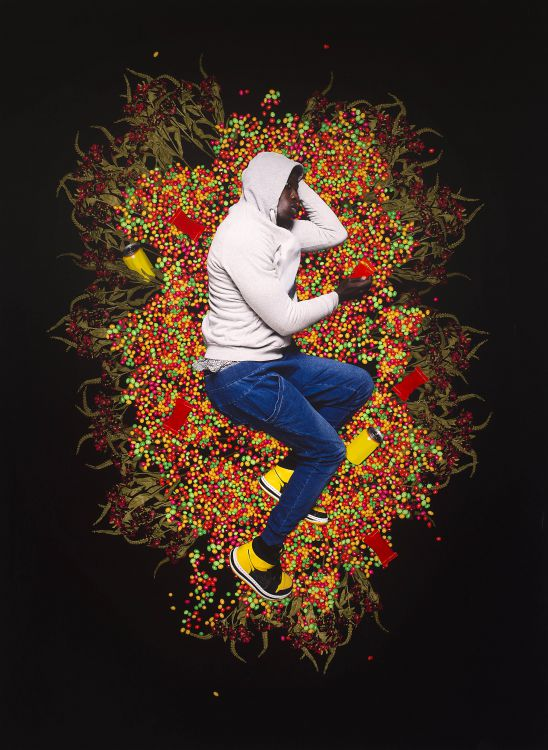 Omar Victor Diop; Trayvon Martin, 2012, from Liberty