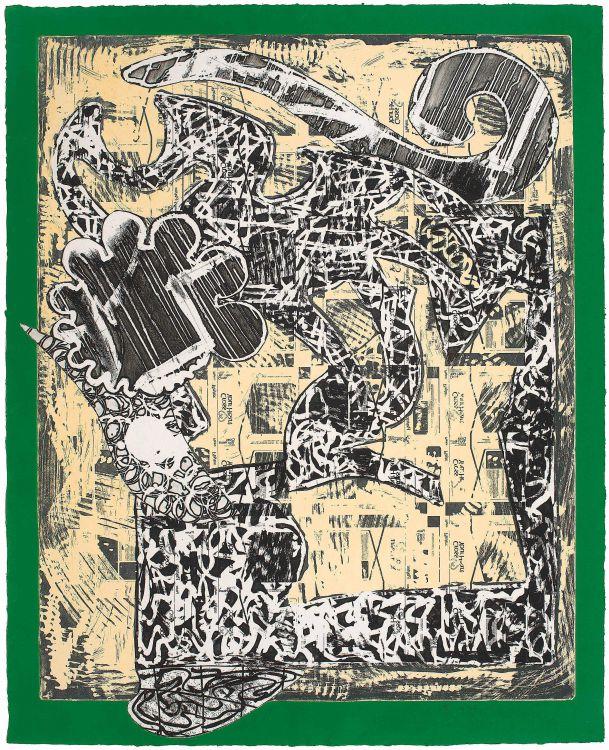 Frank Stella; Green Journal