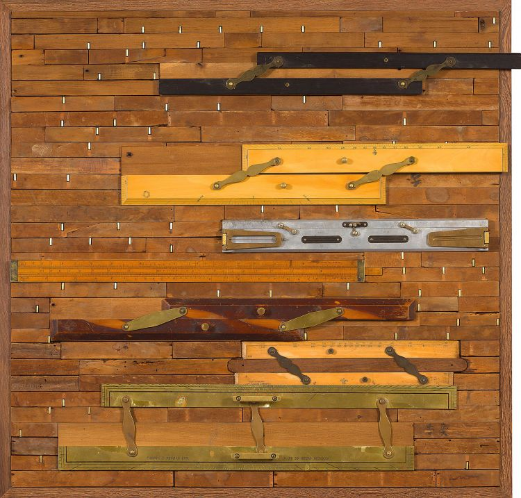 Willem Boshoff; Parallel Rulers